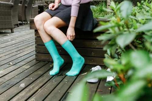Női zoknik és harisnyák