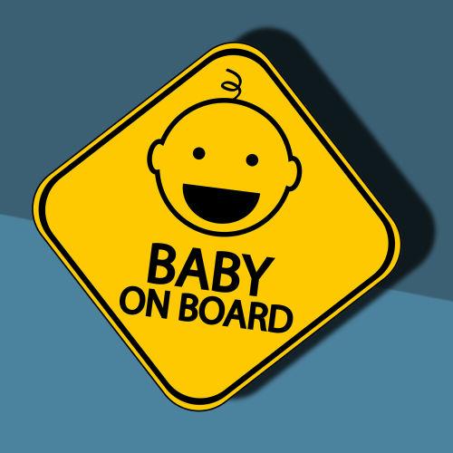 Baby on board jelzések