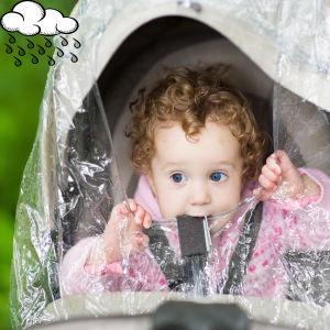 Esővédő babakocsira