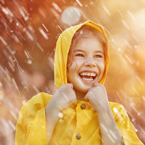 Gyerek esőkabát, esőruházat