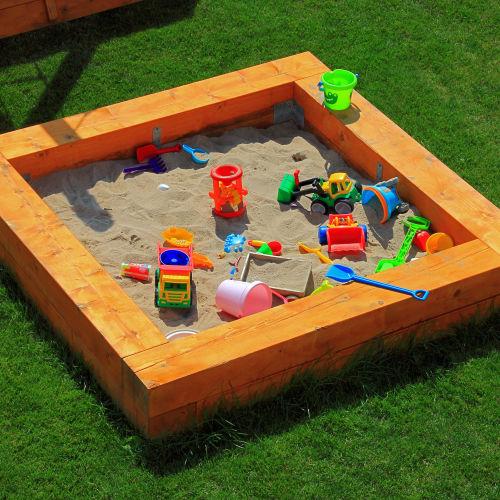 Kerti homokozók