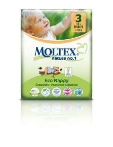 Moltex Öko Midi Pelenka 4-9kg (34db)