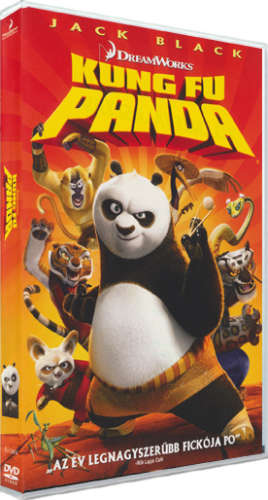 Kung Fu Panda 1. DVD