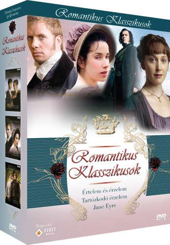 Romantikus klasszikusok díszdoboz 3DVD