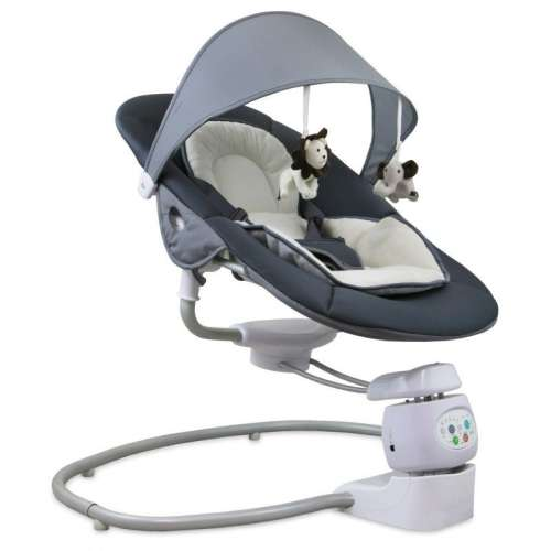 Baby Mix prémium Elektromos Hinta és Pihenőszék #antracit-bézs