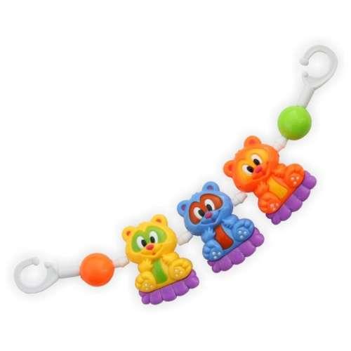 Babakocsira szerelhető Baby Mix macis lánc