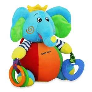 Baby Mix Plüssjáték rágókával és tükörrel - elefánt 30147801