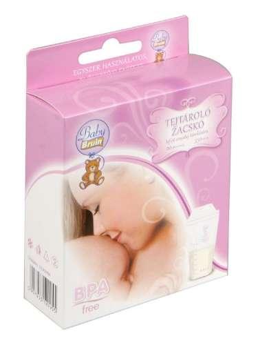 20db Baby Bruin tejtároló zacskó #BPA-mentes