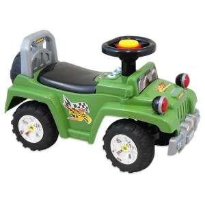 Baby Mix lábbal hajtható zenélő és világító Terepjáró #zöld  30147876