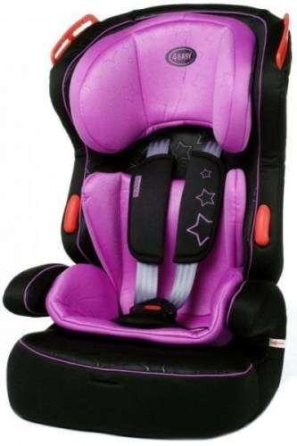 4 Baby Basco Autósülés 9-36kg #lila