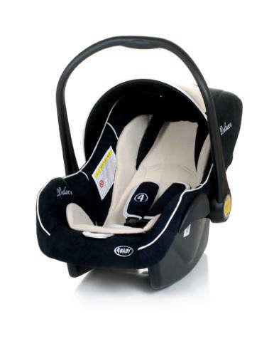 4 Baby Colby Deluxe Multifunkciós Gyerekülés 0-13kg #fekete