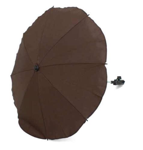Univerzális napernyő babakocsira (barna)