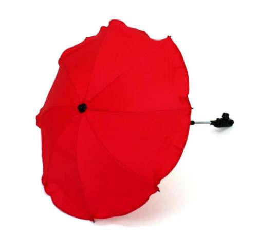 Univerzális napernyő babakocsira (piros)