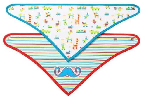 BabyOno kétrétegű háromszög-kendő többféle