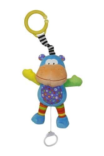 Lorelli zenélő játék - Funny Hippo víziló