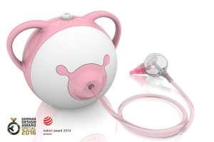 Nosiboo Elektromos Orrszívó #rózsaszín