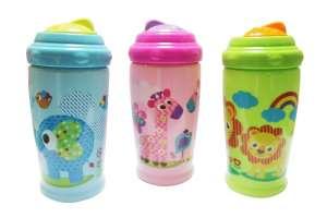 Baby Care sport Itató 300ml - Állatos