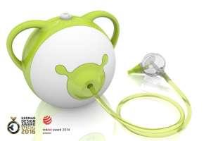 Nosiboo Elektromos Orrszívó #zöld 31303601 Orrszívó, orr spray