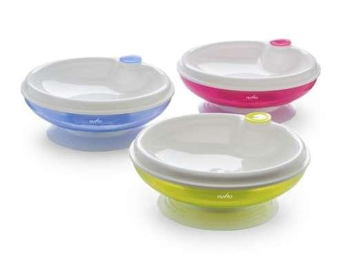 Nuvita melegíthető tányér #kék 1427