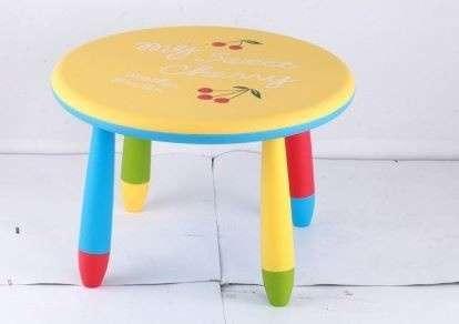 Chipolino műanyag Kisasztal #sárga cherry