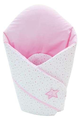 Klups Pólya #fehér-rózsaszín álmos macis - H107 ágynemű termékcsaládhoz