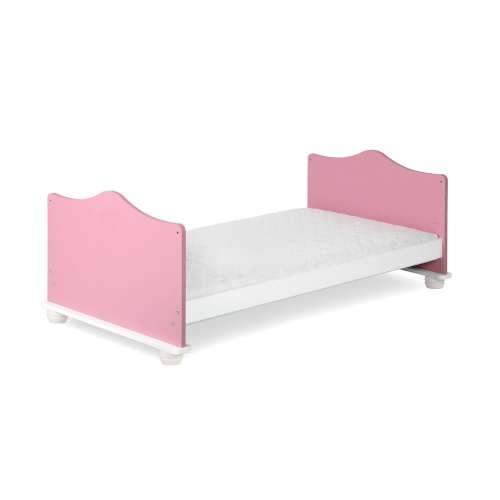 Klups - hercegnős Kiságy 140x70cm #rózsaszín