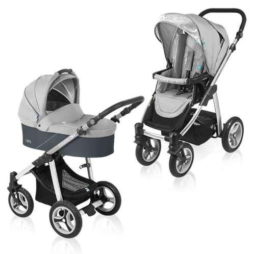 Baby Design Lupo 2:1 multifunkciós Babakocsi #szürke
