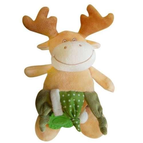BoboBaby Plüss játék rágókával - szarvas