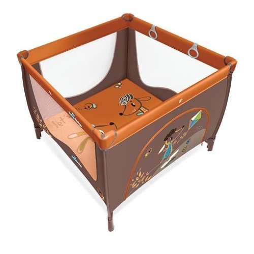 Baby Design Play UP utazójáróka kapaszkodóval (narancssárga)