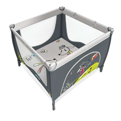 Baby Design Play UP utazójáróka kapaszkodóval (szürke)