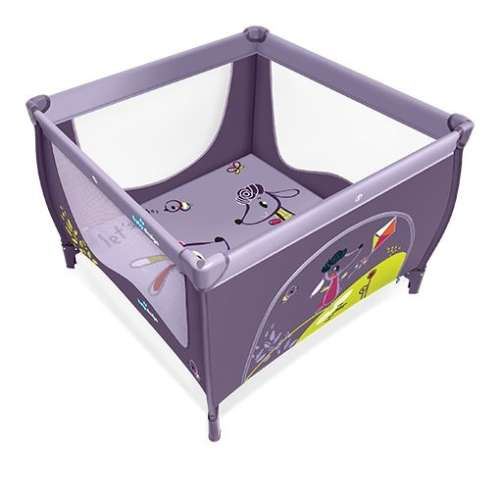 Baby Design Play utazójáróka (lila)