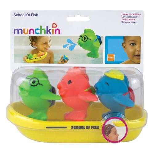 Munchkin fürdőjáték - halacskák csónakban