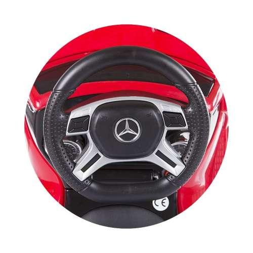 Chipolino Mercedes Benz GL63 AMG Bébitaxi MP3 lejátszóval #piros