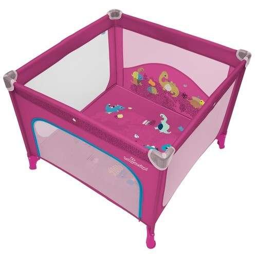 Baby Design Joy Utazó Járóka #rózsaszín