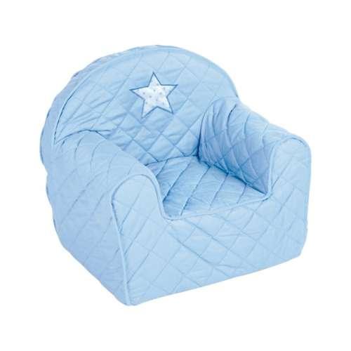 Klups Babafotel - csillagos #kék
