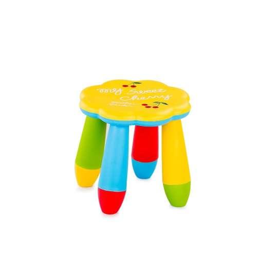 Chipolino műanyag kis szék #virágos #sárga