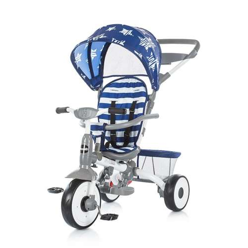 Chipolino Urban Tricikli kupolával csillagos #kék