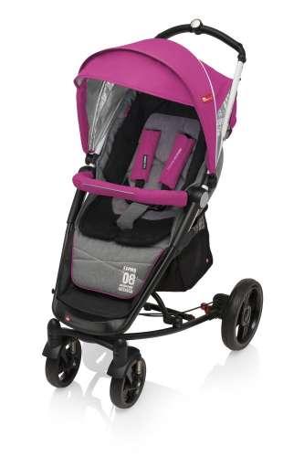Espiro Magic Pro sport Babakocsi #sötét-rózsaszín