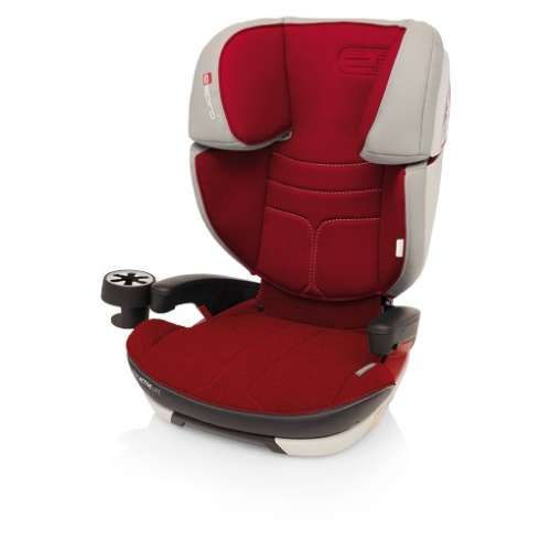 Espiro Omega FX ISOFIX Autósülés 15-36kg #piros