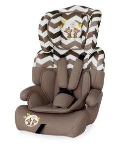 Lorelli Junior Plus Autósülés 9-36kg - daisyBears #bézs