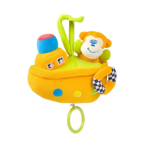 Chipolino zenélő játék - monkey Boat