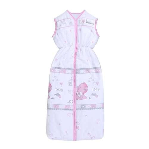 Lorelli nyári Hálózsák #95cm #szivecskés #rózsaszín-fehér