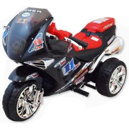 Baby Mix elektromos háromkerekű motor fekete színben