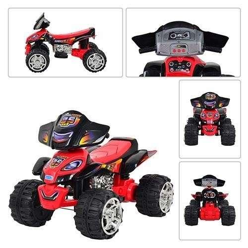 Baby Mix elektromos négykerekű motor #piros