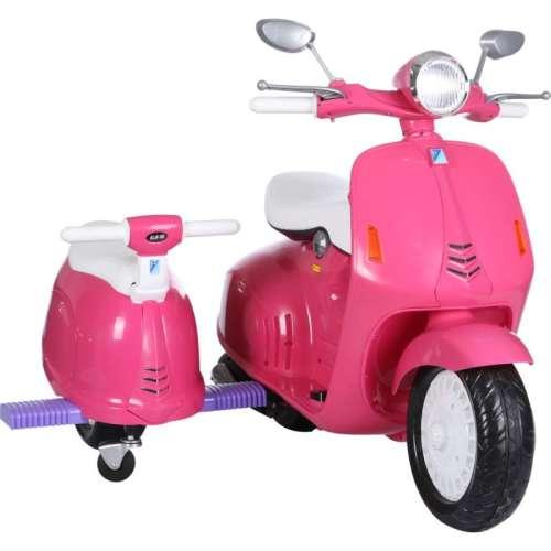 Baby Mix elektromos robogó pink színben