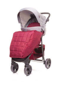 4 Baby Rapid Sport Babakocsi #bordó 30327537