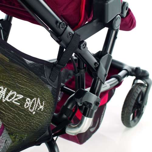 Jané univerzális bevásárló táska Babakocsira #fekete