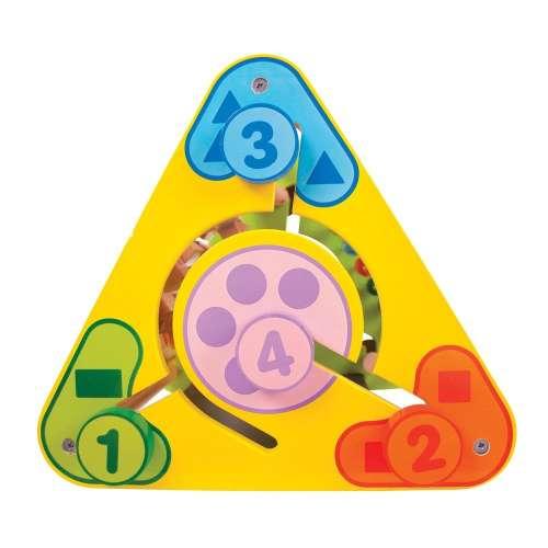 Bigjigs háromszög alakú foglalkoztató Szett