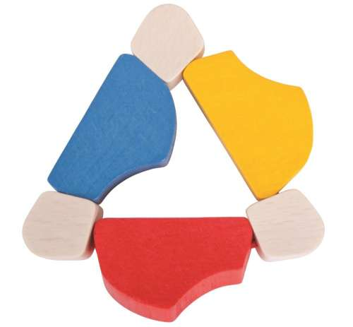 Bigjigs háromszög alakú twister