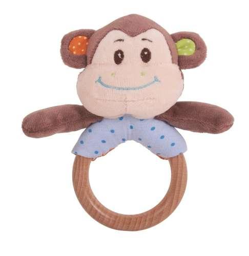 Bigjigs - Cheeky #monkey fakarikás Csörgő